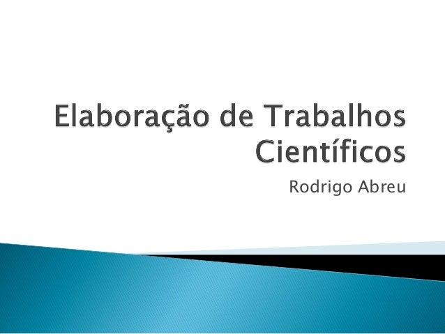 Rodrigo Abreu