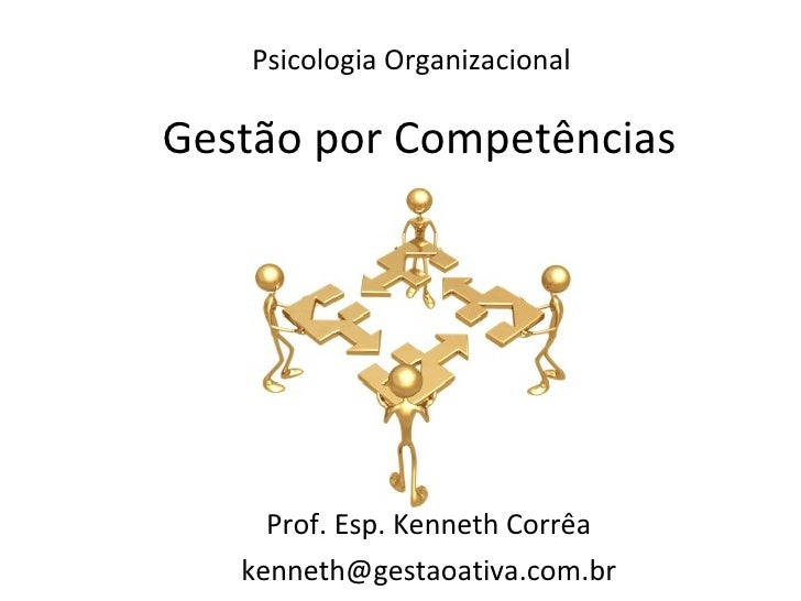 Psicologia Organizacional Prof. Esp. Kenneth Corrêa [email_address] Gestão por Competências