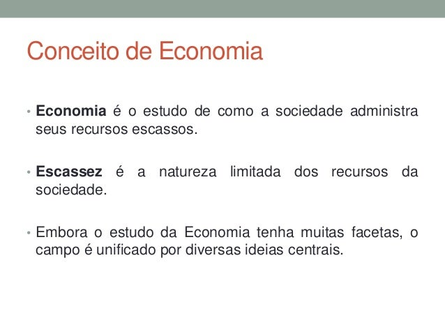 Aula 1   princípios da economia Slide 2