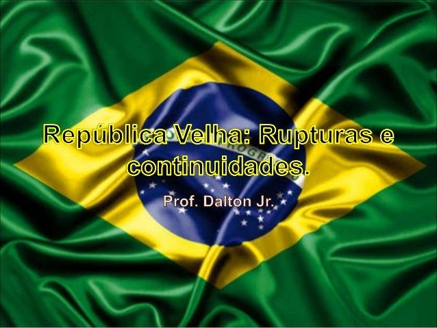 """Diferentes visões de República Com a mudança de Monarquia para República, diversos grupos se formaram e idealizaram """"proje..."""