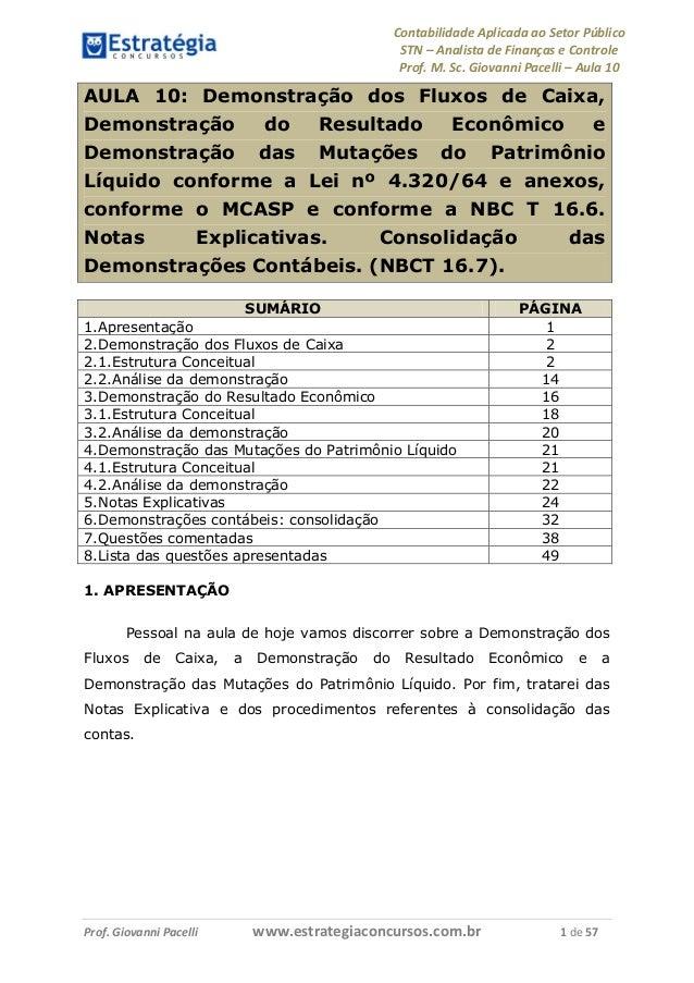 Contabilidade Aplicada ao Setor Público                                                    STN – Analista de Finanças e Co...