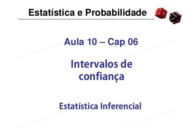 Estatística e Probabilidade                                                                                               ...