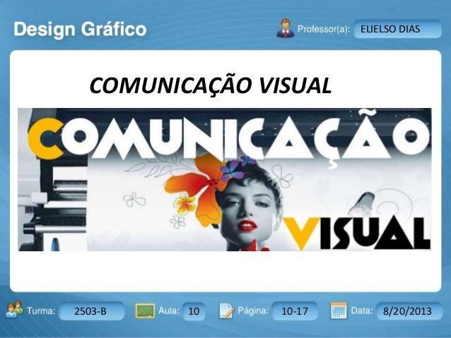Aula: Pág: Data:10 10 a 17 18-jan-122503-BTurma: Instrutor: Ricardo Paladini Matos 2503-B 10 10-17 8/20/2013 ELIELSO DIAS ...