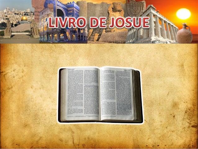 INTRODUÇÃO DIVISÃO FATOS IMPORTANTES JOSUÉJOSUÉ