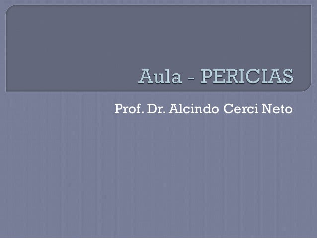 Prof. Dr. Alcindo Cerci Neto