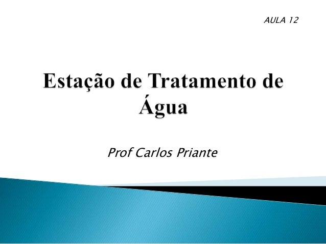Prof Carlos Priante AULA 12