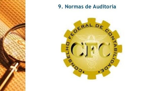 9. Normas de Auditoria