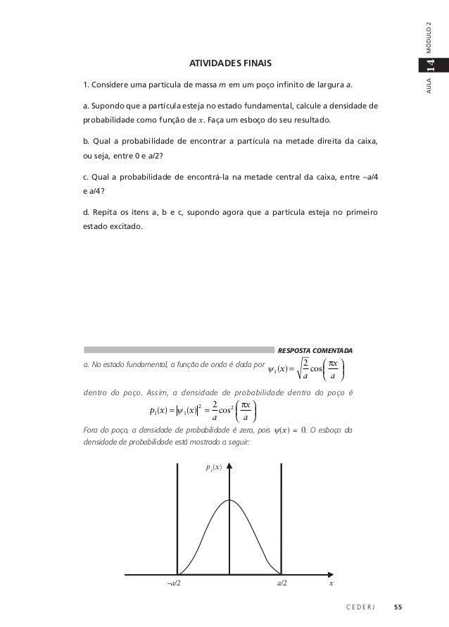 663ec3f161b Aula 14  O poço de potencial infinito