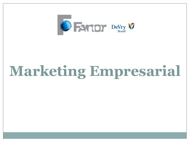 Marketing Empresarial
