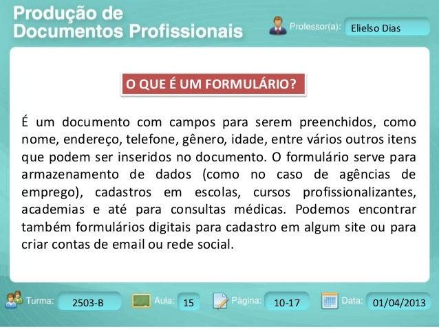 Aula 15 formulário  Slide 3