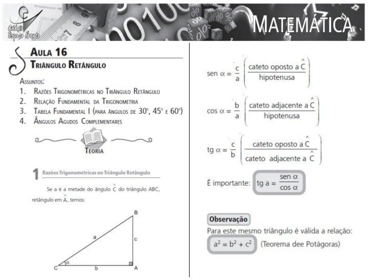 Aula 16 - Matemática