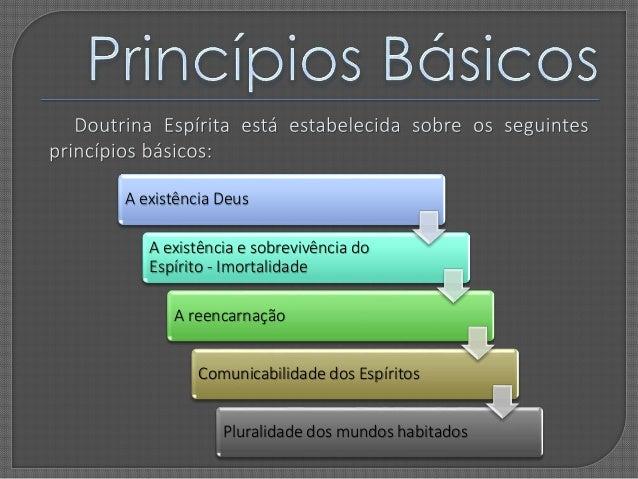 Resultado de imagem para princípios básicos do espiritismo