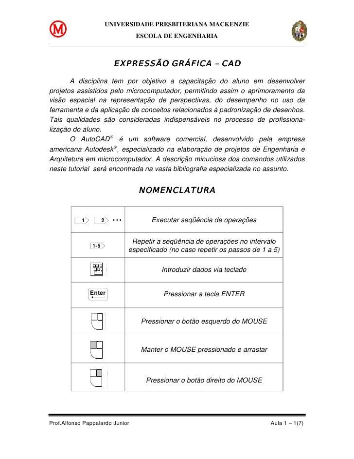 UNIVERSIDADE PRESBITERIANA MACKENZIE                                 ESCOLA DE ENGENHARIA                            EXPRE...