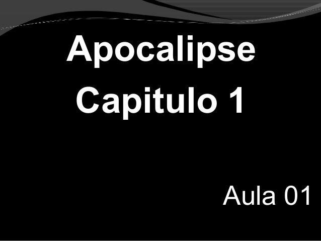 Apocalipse Capitulo 1 Aula 01