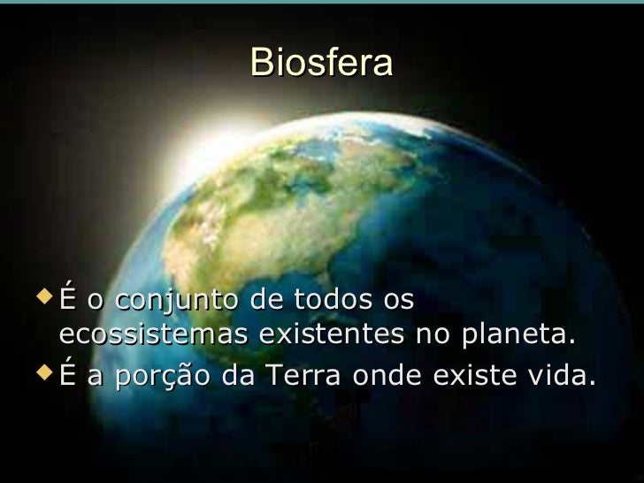 Resultado de imagem para biosfera