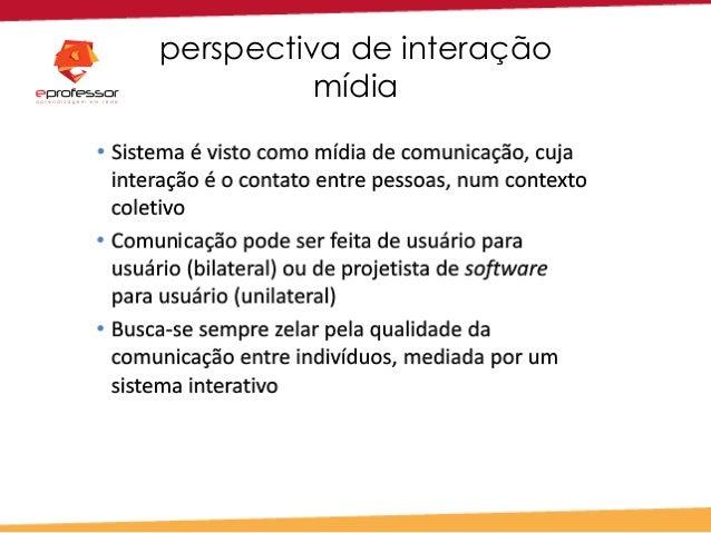 perspectiva de interação mídia