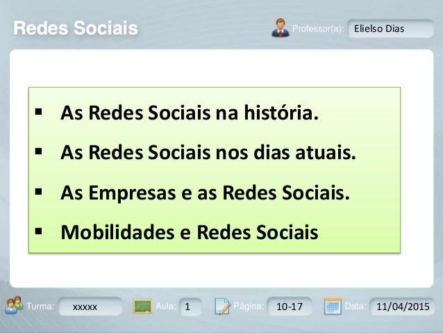 Aula: Pág: Data:10 10 a 17 18-jan-122503-BTurma: Instrutor: Ricardo Paladini Matos xxxxx 1 10-17 11/04/2015 Elielso Dias ...