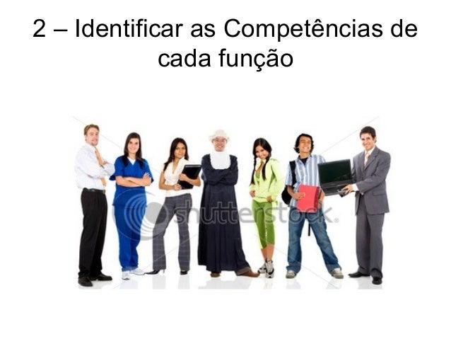 2 – Identificar as Competências de cada função