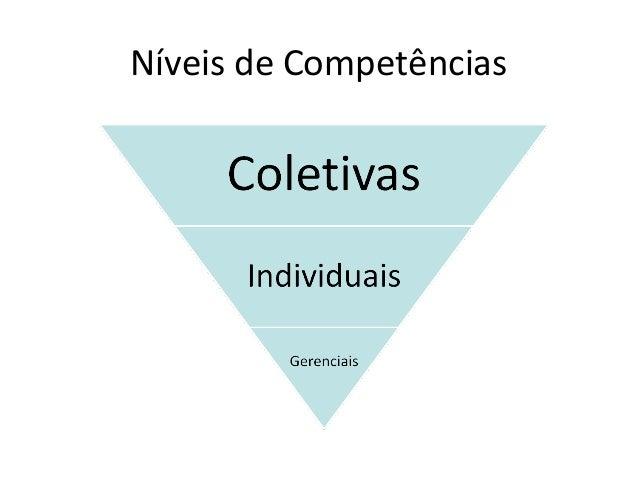 Níveis de Competências
