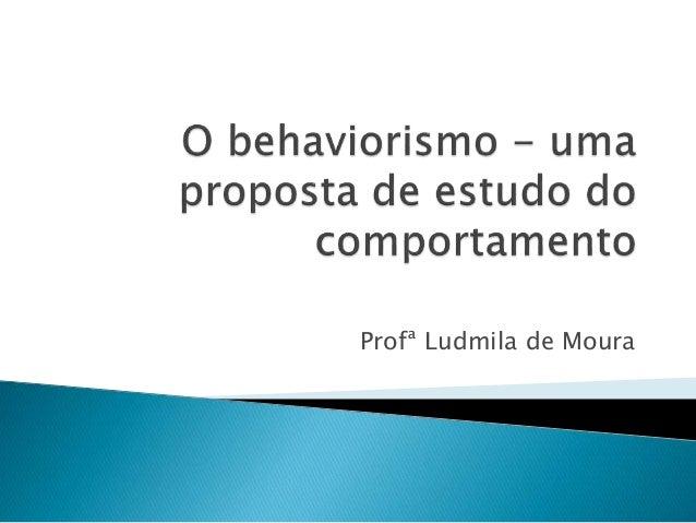 Profª Ludmila de Moura