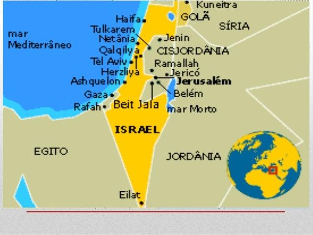 1. A questão palestina e o Estado de Israel