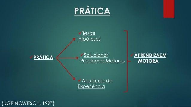 VARIABILIDADE DE PRÁTICA TEORIA DE ESQUEMA (SCHMIDT, 1975). Variação do mesmo padrão de movimento (TANI et al, 2004;UGRINO...