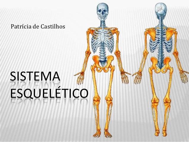 Patrícia de CastilhosSISTEMAESQUELÉTICO