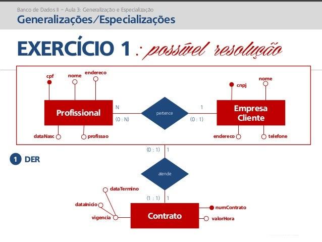 prof. Gustavo Zimmermann | contato@gust4vo.com nome cnpj EXERCÍCIO 1 : possível resolução Banco de Dados II – Aula 3: Gene...