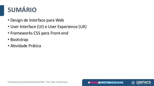 Aula 3. frameworks front end Slide 2