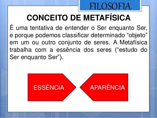 Aula 3   metafísica Slide 2