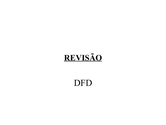 REVISÃO DFD
