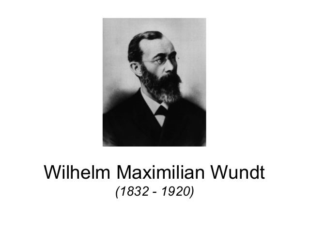 evaluating the impact of psychology in wilhelm wundts works Wilhelm wundt is the first man who can be called a psychologist without qualifying the statement by since wundt referred explicitly to physiological psychology in his title,his particular interpretation of not only was he working in this field, but a conception of psychology as a distinct science was.