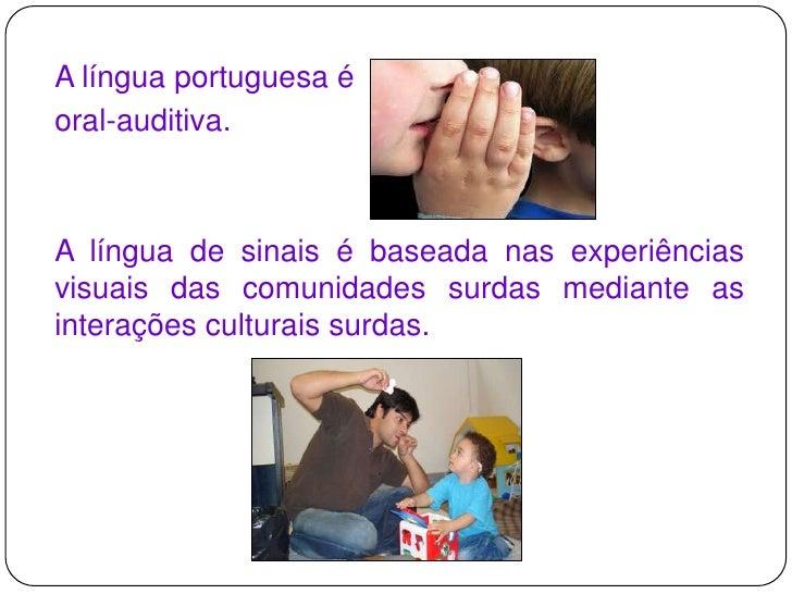 LIBRAS - Língua Brasileira de Sinais Slide 3
