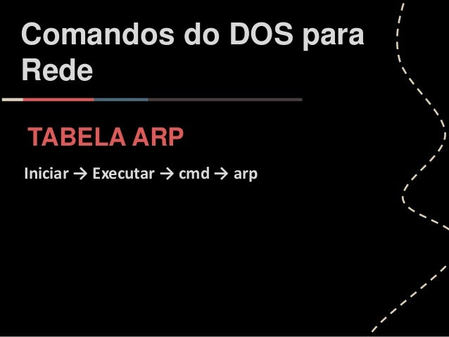 Comandos de rede cmd pdf