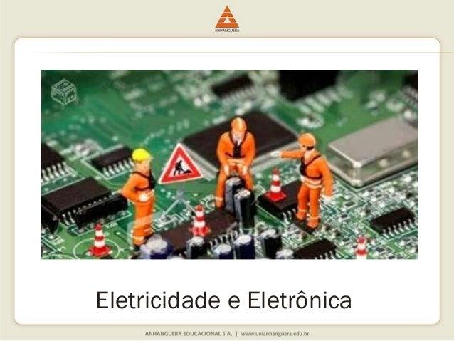 Eletricidade e Eletrônica