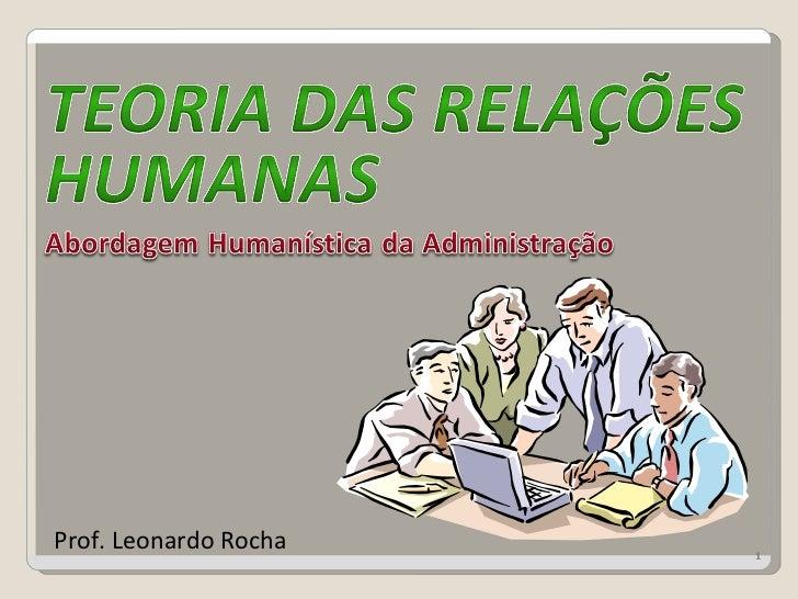 Prof. Leonardo Rocha   1