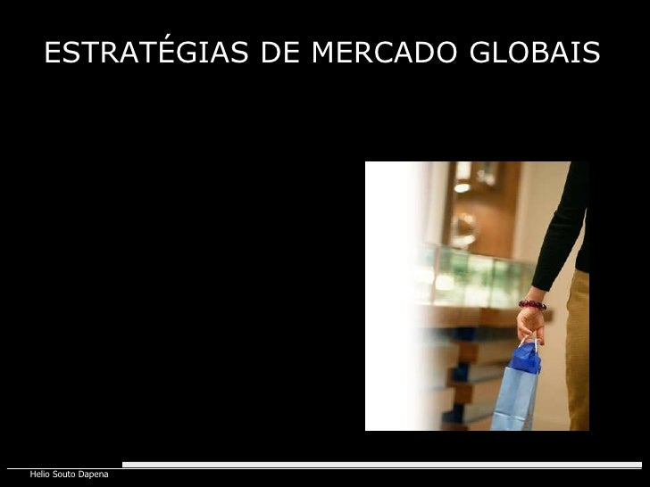 ESTRATÉGIAS DE MERCADO GLOBAIS