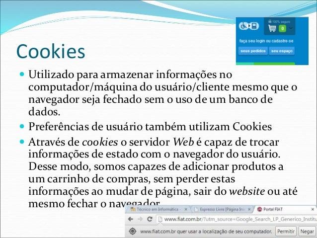 Aula 5 - Cookies e Sessões em PHP Slide 3