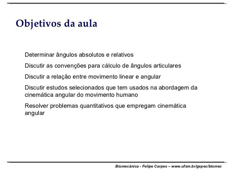 Aula 5   Cinematica Angular Slide 2