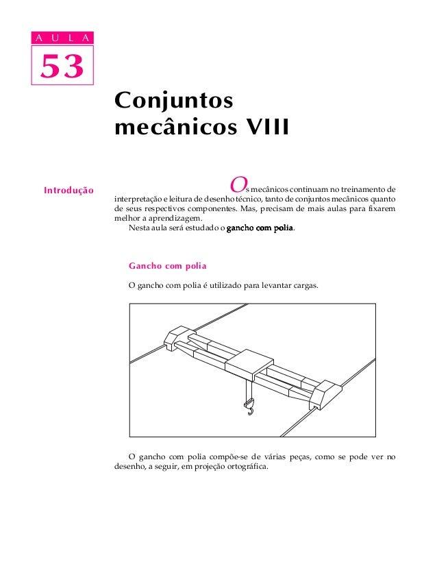 A UA U L A     L A    5353              Conjuntos              mecânicos VIII Introdução                                  ...