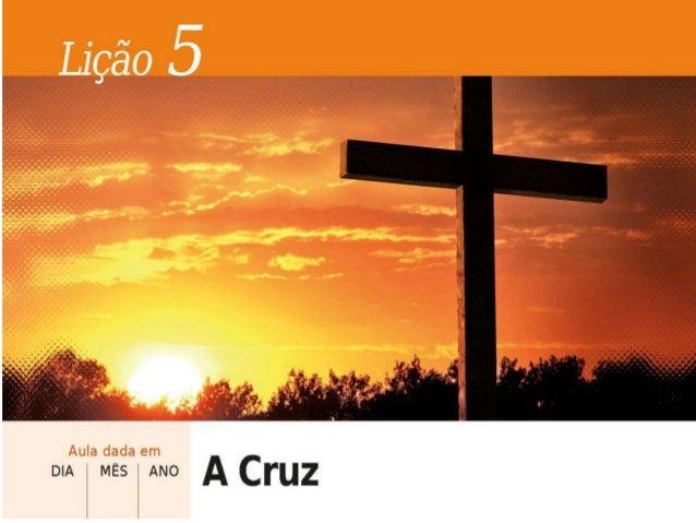 PALAVRA INTRODUTÓRIA A Cruz é o mais conhecido símbolo religioso do cristianismo. A Crucificação de Jesus é o aconteciment...