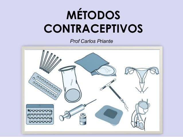 MÉTODOS CONTRACEPTIVOS Prof Carlos Priante