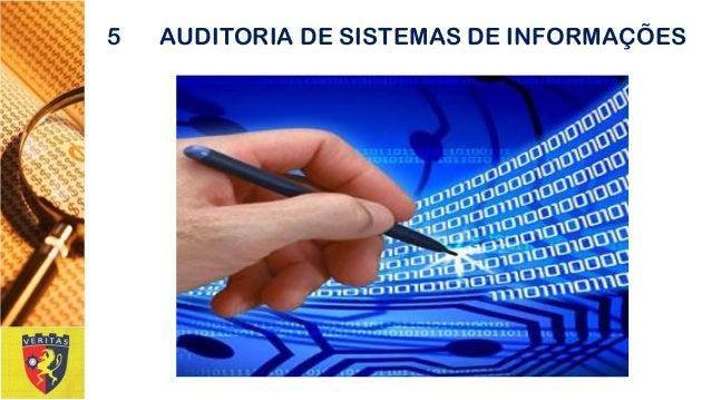 5AUDITORIA DE SISTEMAS DE INFORMAÇÕES