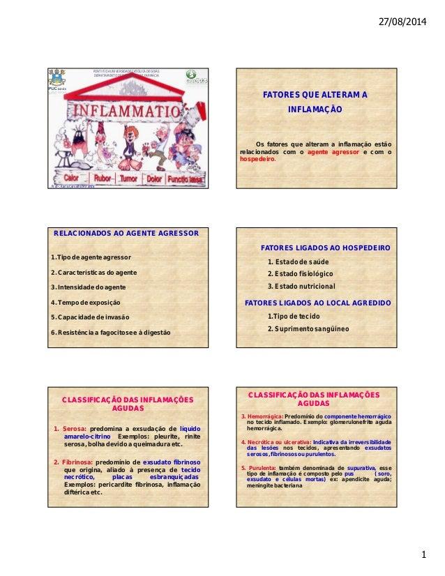 27/08/2014  1  PONTIFÍCIA UNIVERSIDADE CATÓLICA DE GOIÁS  DEPARTAMENTO DE BIOMEDICINA E FARMÁCIA  Profa: Karla Carvalho Mi...