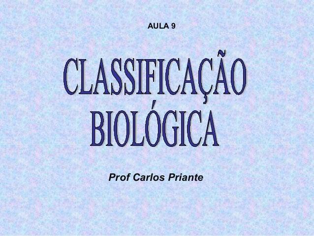 Prof Carlos Priante AULA 9