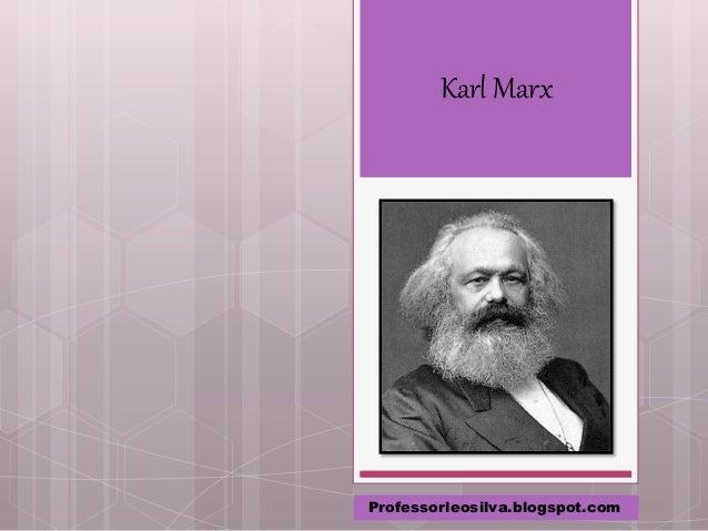 Karl Marx Professorleosilva.blogspot.com