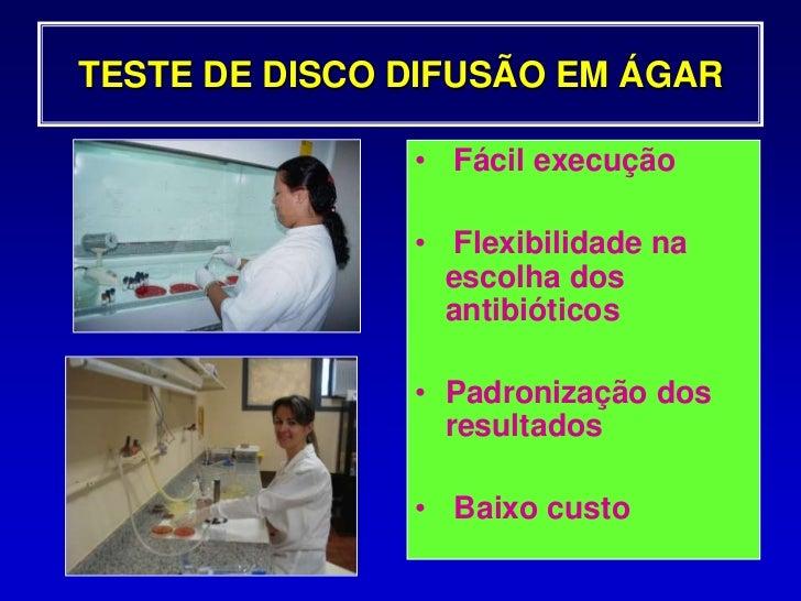 Teste de sensibilidade aos antimicrobianos<br />Procedimento<br />Bactéria e Inóculo<br />