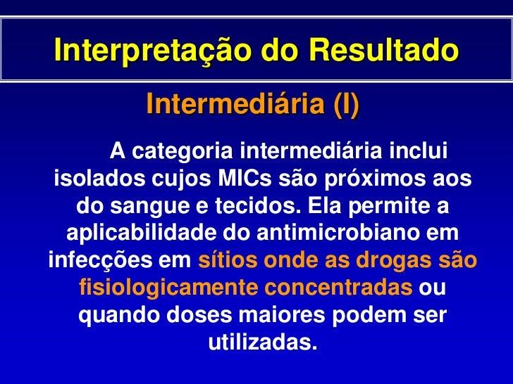 TESTE DE DIFUSÃO EM ÁGAR<br />Leitura e Interpretação<br />mm<br />