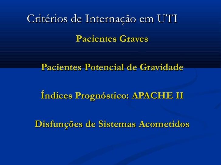 AVALIAÇÃO FISIOTERAPÊUTICA EM UTI Slide 2