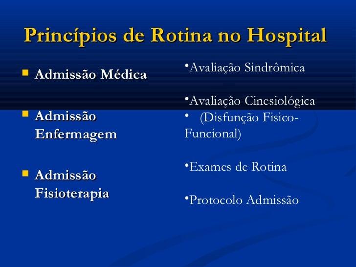AVALIAÇÃO FISIOTERAPÊUTICA EM UTI Slide 3